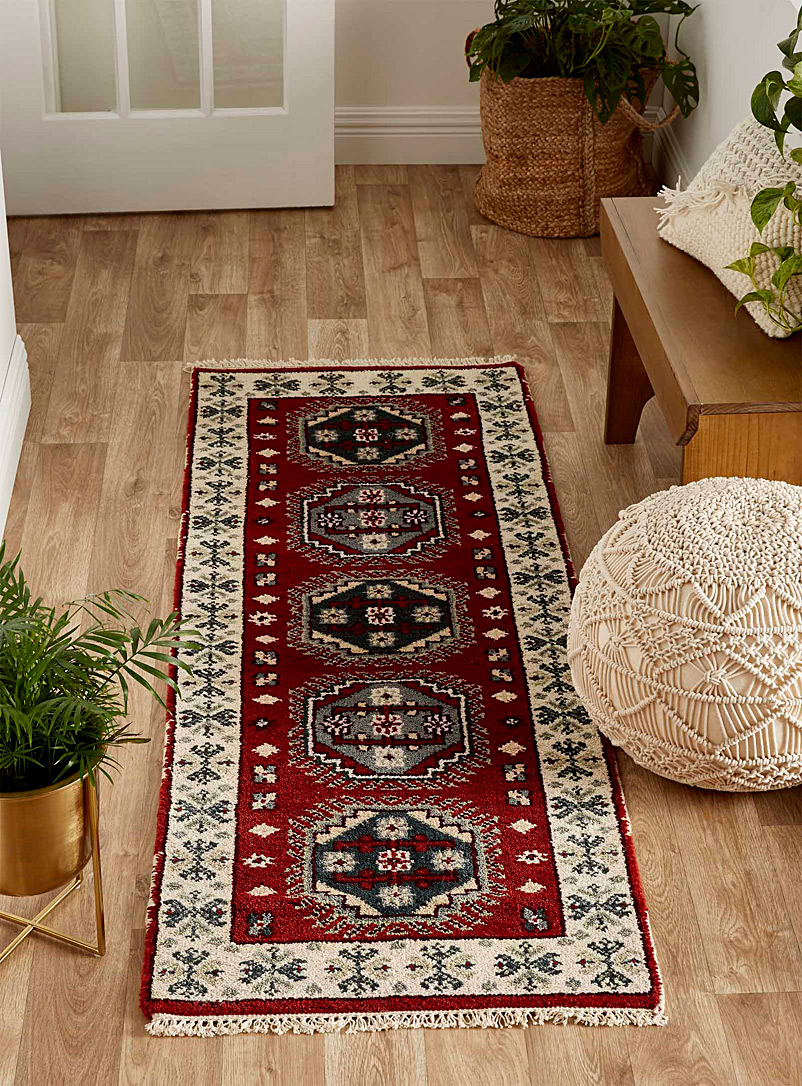 Simons Maison Red Persian richness II artisanal hallway rug