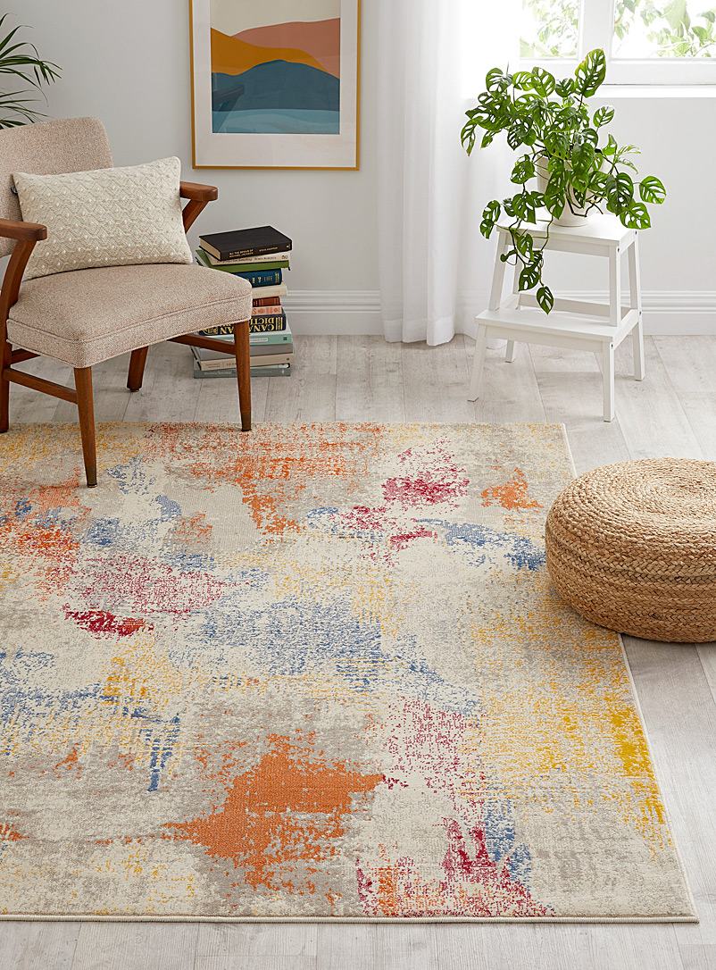 Abstract lands rug