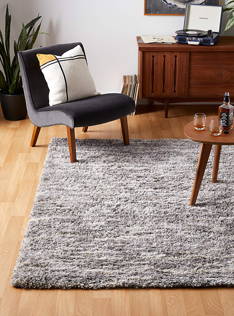 Urban heather shag rug