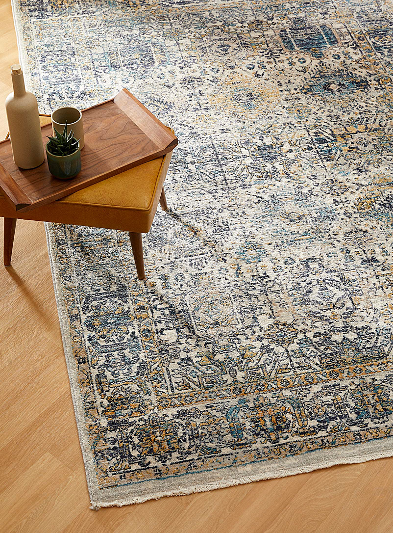 Simons Maison Assorted navy Lost city rug See available sizes