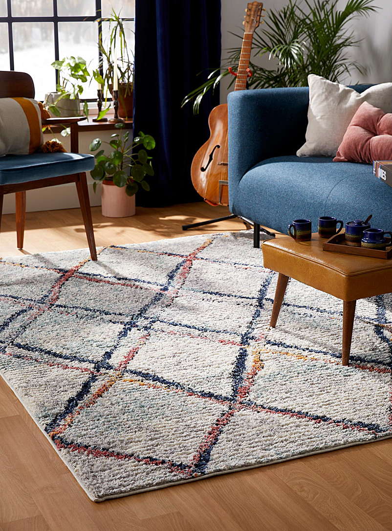 Simons Maison Assorted Imperfect trellis rug See available sizes