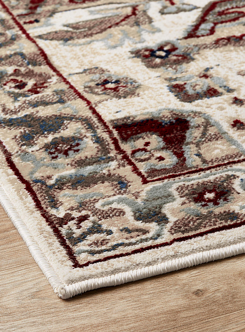 Vintage road rug - Area Rugs - Patterned Red