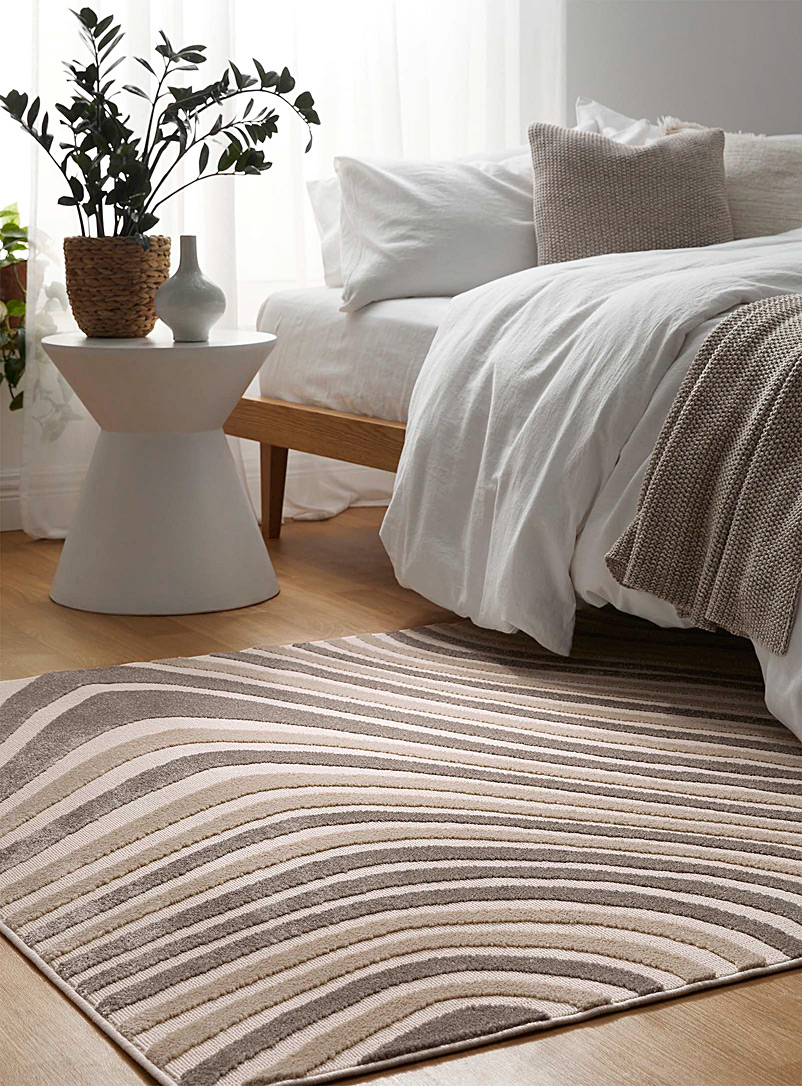 Simons Maison Assorted white Marbled rug See available sizes