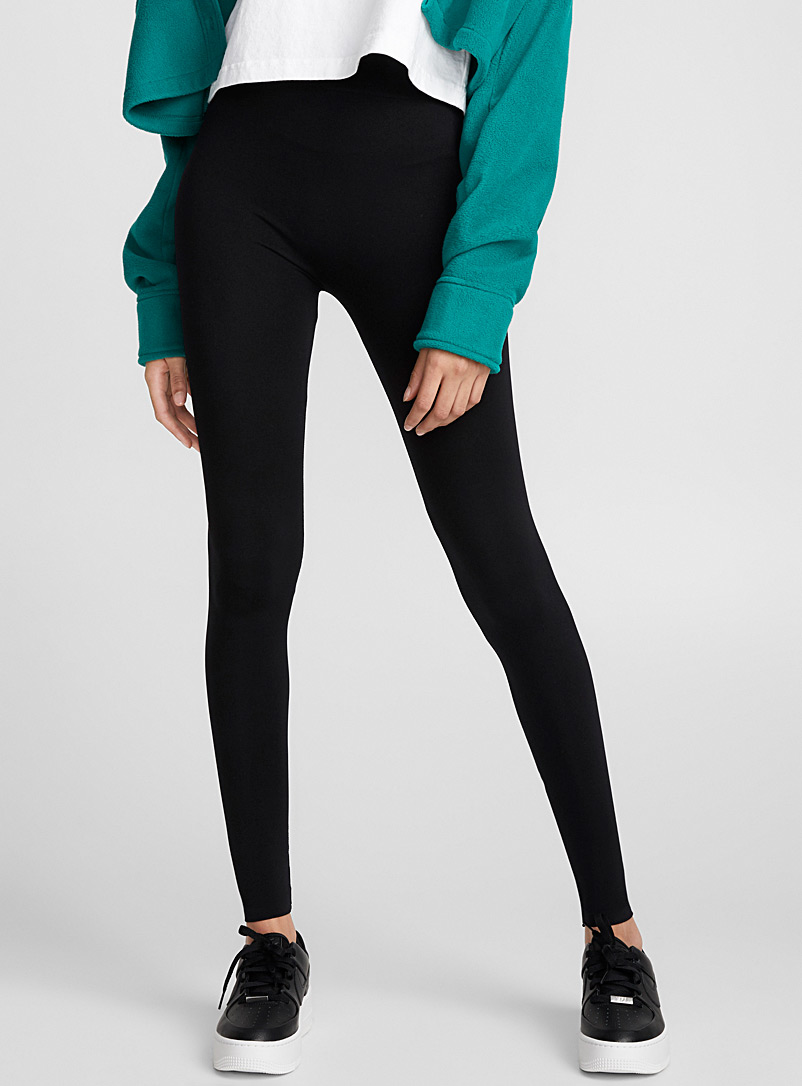 Le legging sans coutures - Leggings - Noir
