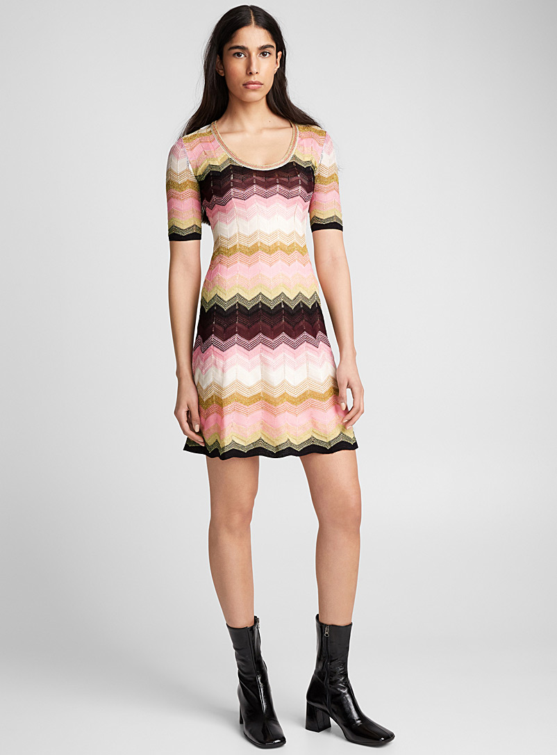 zigzag-knit-dress