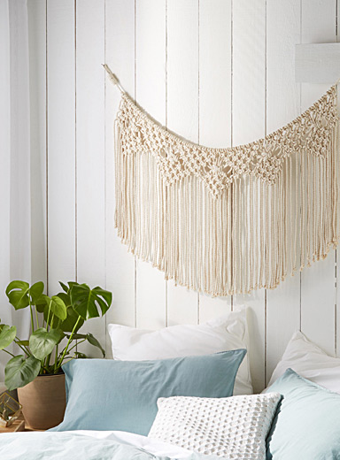 Bella macramé wall ornament