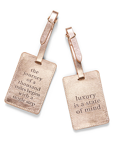 Definitions luggage tags  Set of 2