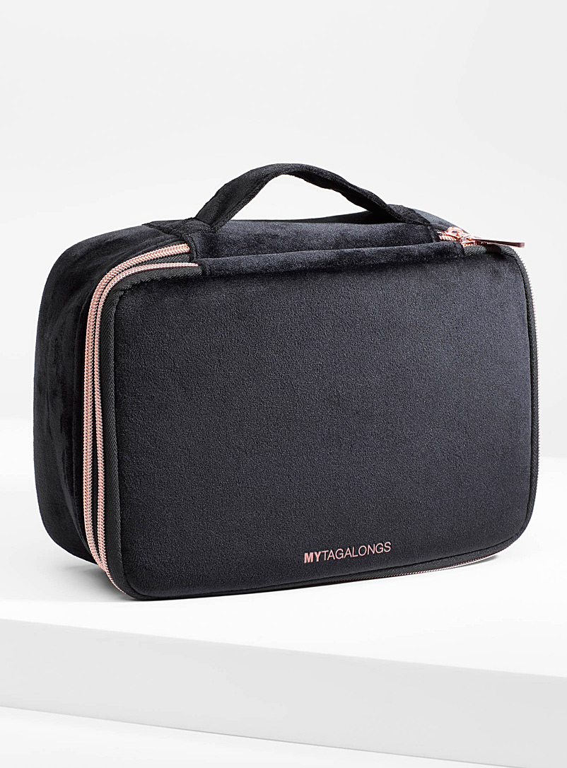 Velvet deluxe travel case - Assorted Extras - Black