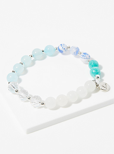Aura Vibe Baby Blue Candy bracelet for women