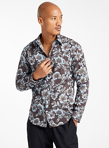 Floral tapestry shirt  Modern fit