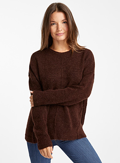Mahogany loose sweater