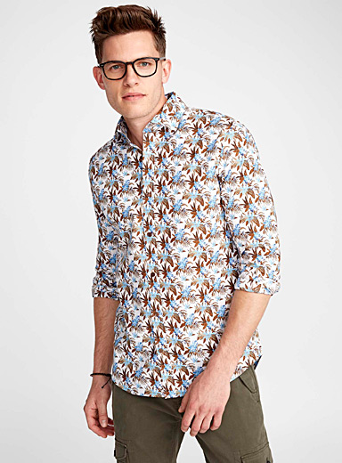 Polynesian forest shirt <br>Semi-tailored fit