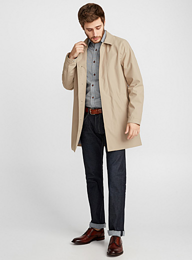 Miles waterproof trench