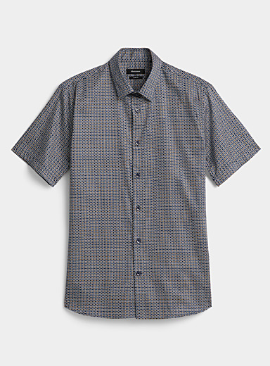 Graphic dot shirt  Slim fit