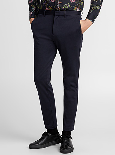 Paton engineered jersey pant <br>Slim fit