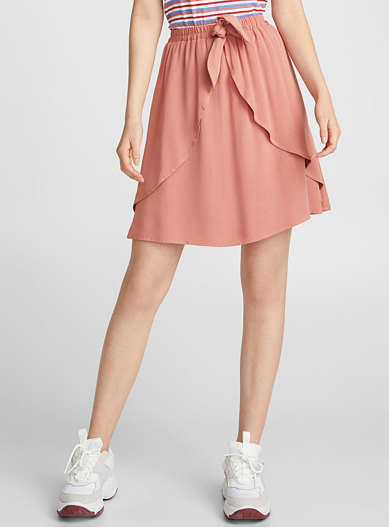 ruffle-and-bow-miniskirt