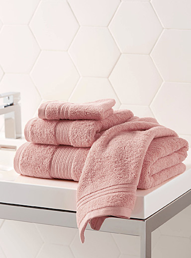 Simons Maison Pink Airy cotton towels