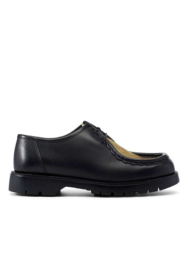 Ecole de Pensée Black Dionee derby shoes  Men for men