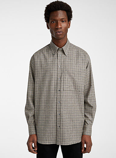 Ecole de Pensée Assorted Loose check shirt for men