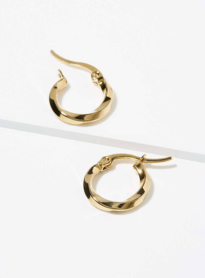 Simons Assorted Slightly twisted hoops for women