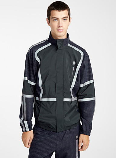 Tennis stripe jacket