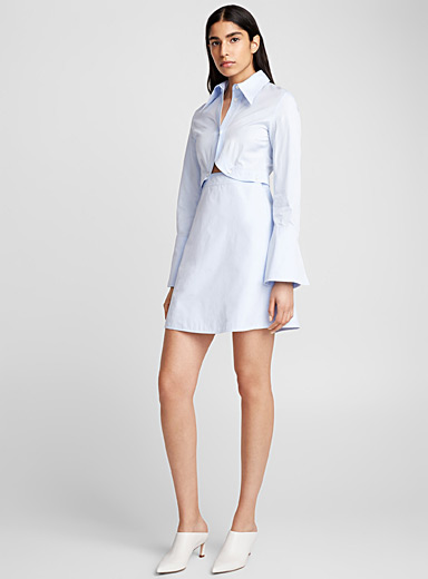 Double Helix shirtdress