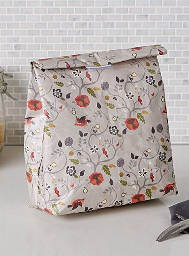 Fairy-tale garden lunch bag