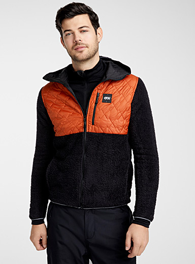 Goomer polar fleece and nylon jacket