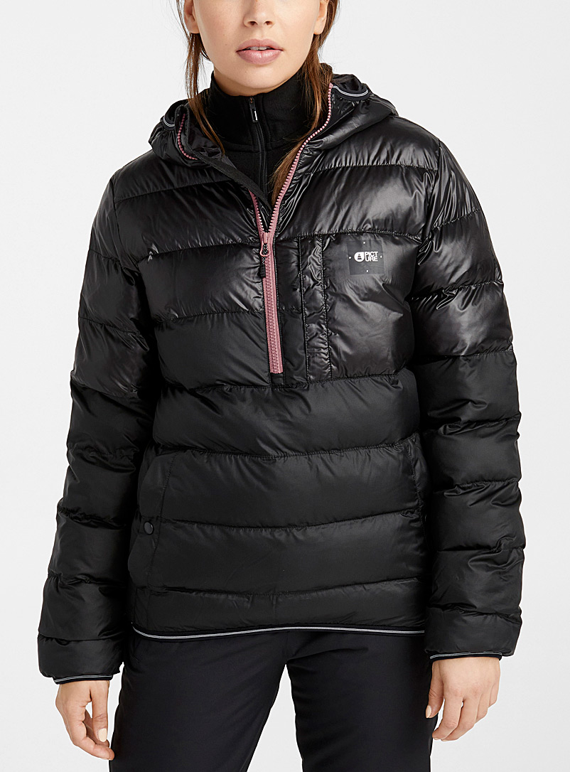Picture Black Delia quilted anorak  Regular fit for women