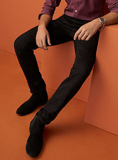 Minimalist black jean <br>Stockholm fit - Slim