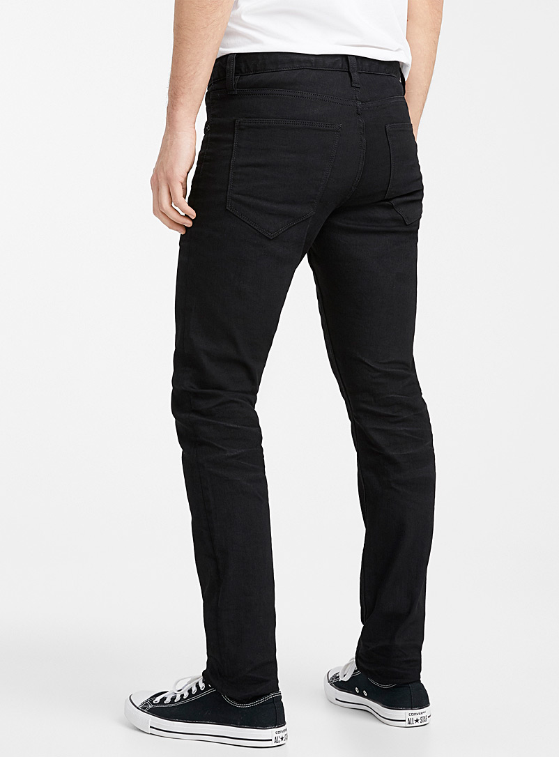 Minimalist black jean  Stockholm fit - Slim - Premium Denim - Black