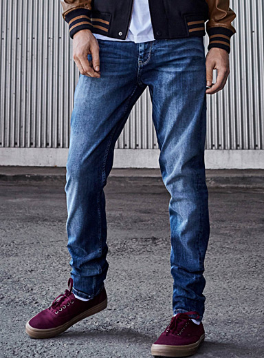 Faded stretch jean  Super skinny fit