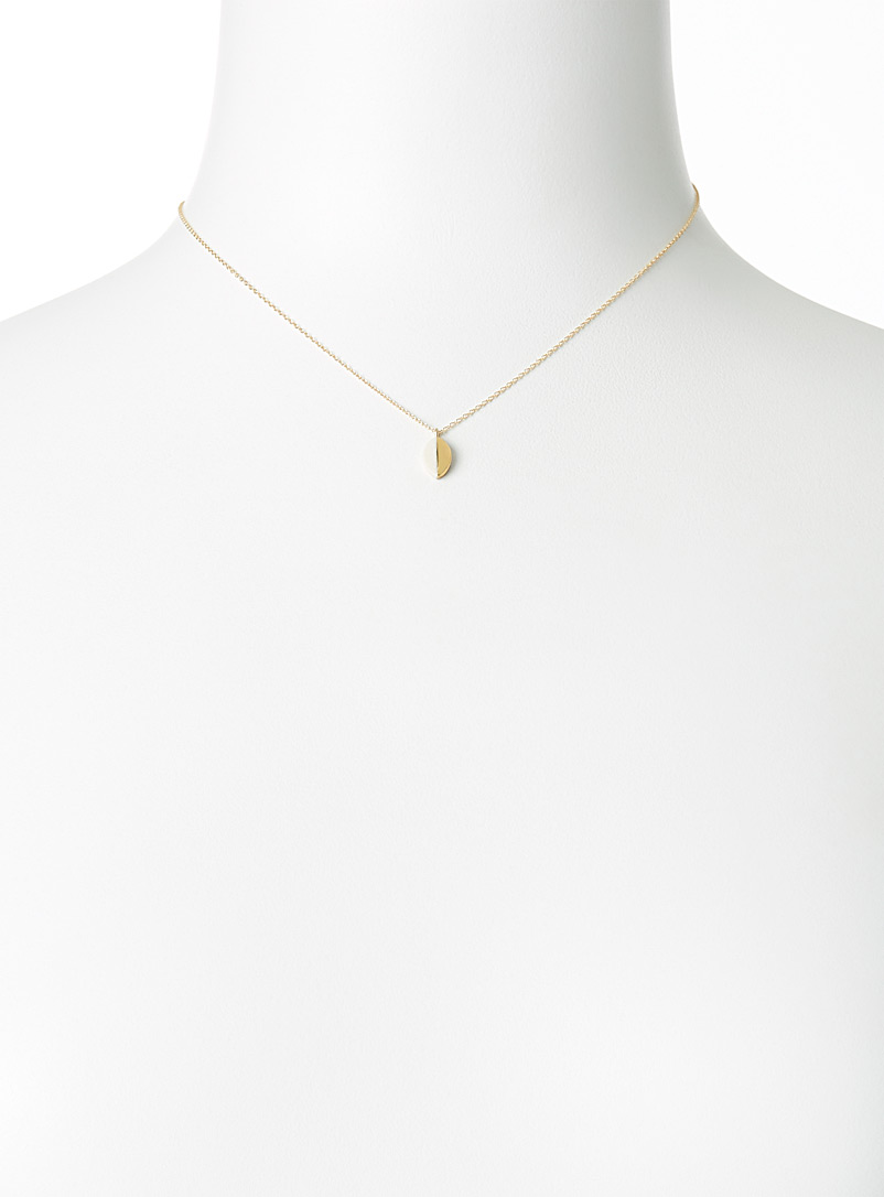 Marquise duo necklace - Necklaces - Assorted