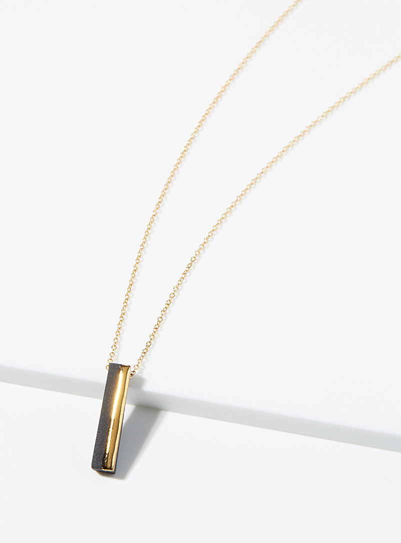 Le collier lingot d'or