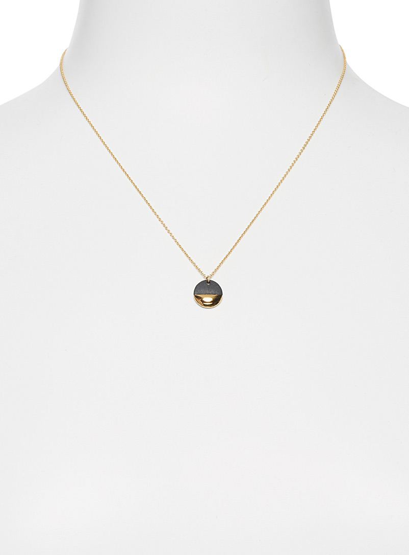 Precious metal necklace - Necklaces - Dark Yellow