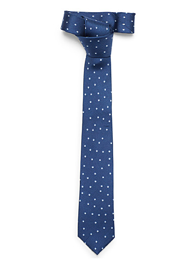 Ombré dotted tie