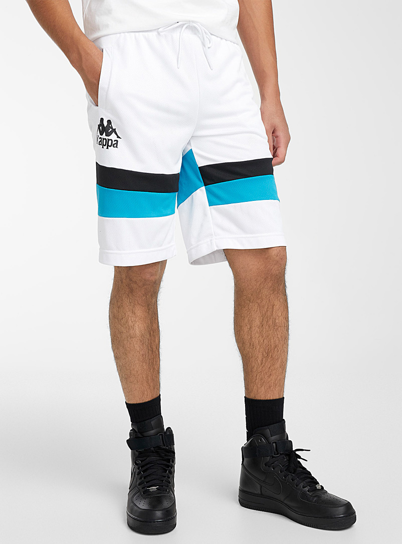 Kappa: Le short Authentic Football Endel Blanc pour homme