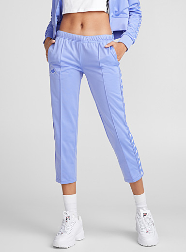 Logo band ankle pant