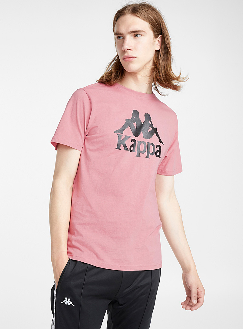 Basic logo T-shirt - Logo wear - Dusky Pink