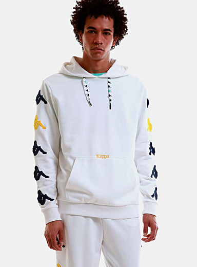 Kappa White Sand Charice hoodie for men