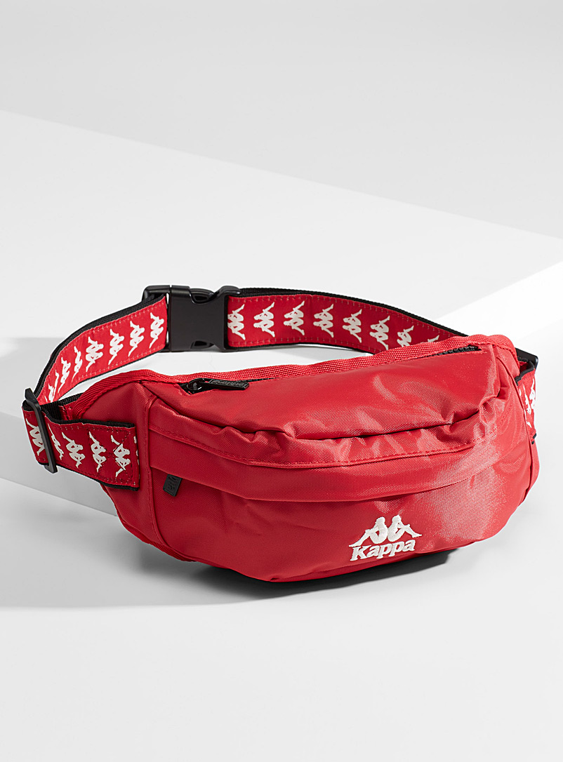 Kappa Red Logo band belt bag for men