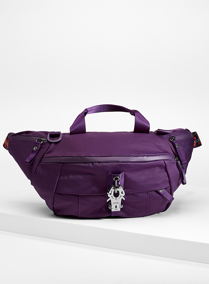 Hazard Haze belt bag - Belt bags - Mauve