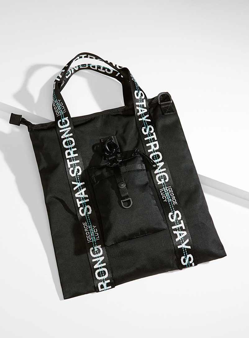 XT3ND3D black tote