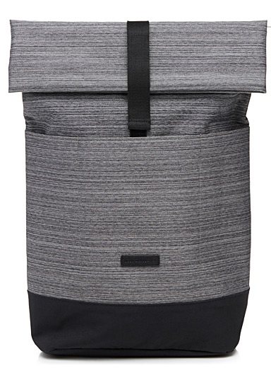 Hajo heathered backpack