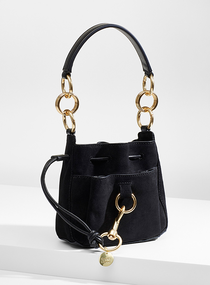 See by Chloé Black Tony bucket bag for women
