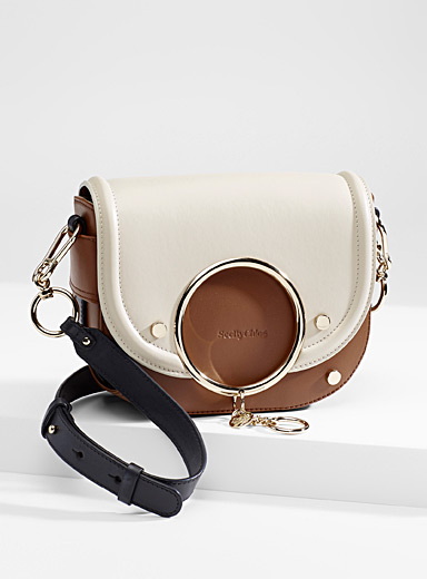 Mara Color Block shoulder bag