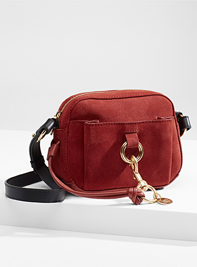 See by Chloé Light Red Faye small bag for women