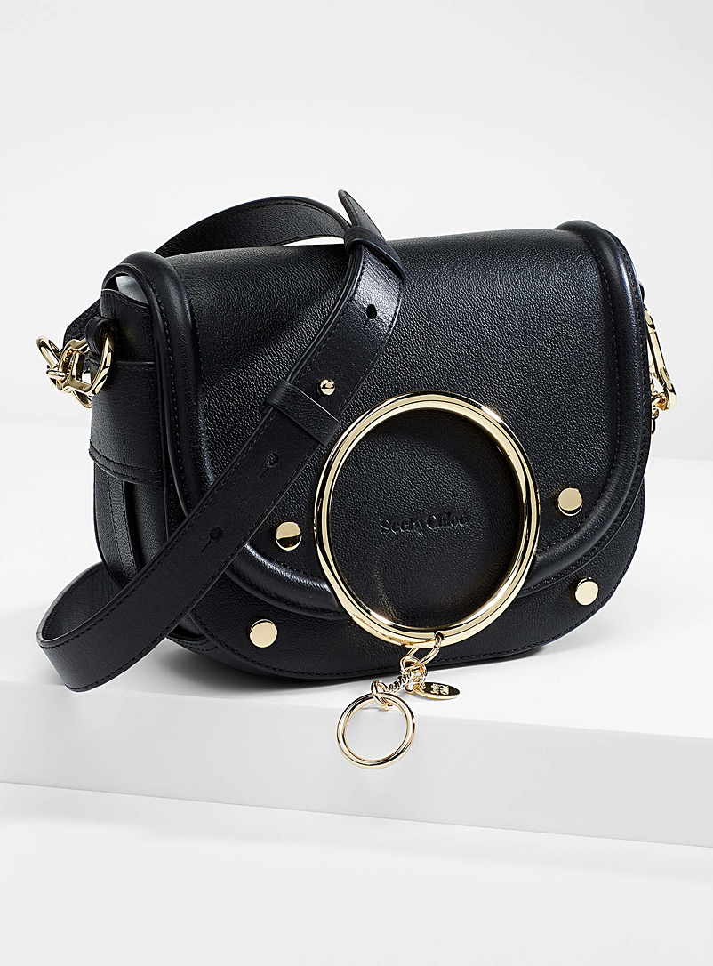 See by Chloé Black Mara shoulder bag for women