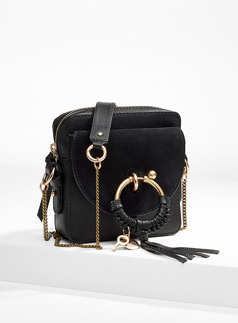 See by Chloé Black Joan camera bag for women
