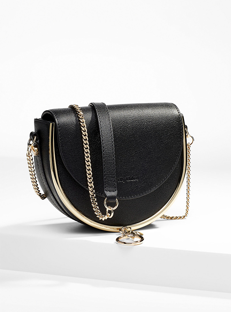 See by Chloé Black Mara evening bag for women